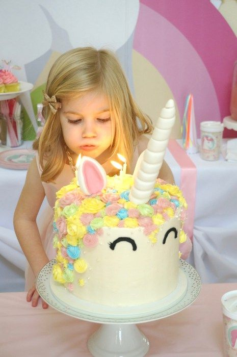 Unicorn Party Th Birthday Party Little Girl Party Cake - Children's birthday parties galway