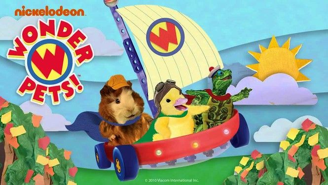 Nick Jr's Wonder pets tv show Abbys shows Pinterest