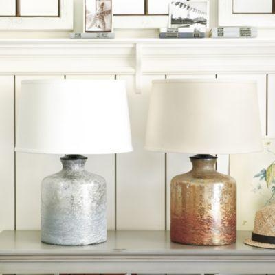 Ellis glass table lamp ballard designs