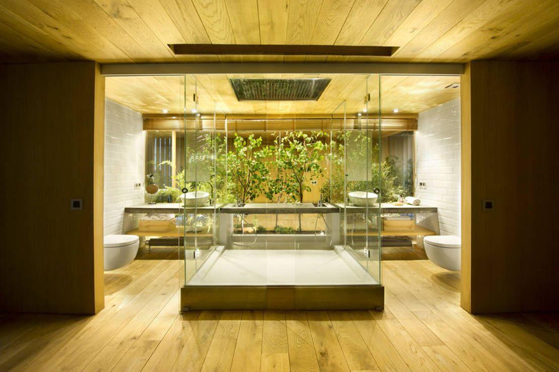 banheiro integrado rústico - Google Search   BATH ROOMS   Pinterest ...