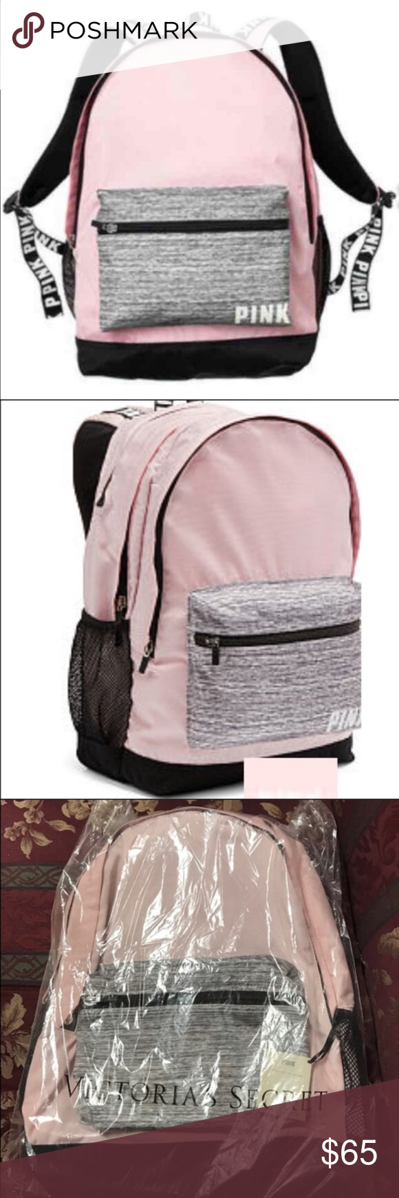 0a5dd7165ca8 Selling this BNIP Victoria Secret Pink Campus Backpack on Poshmark! My  username is  kristie583.  shopmycloset  poshmark  fashion  shopping  style   forsale ...