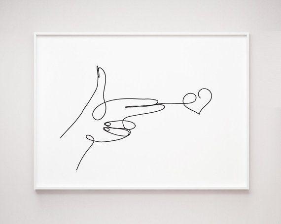 #valentines day decor minimalist Handgewehrgeste schießt Herz, Eine Strichzeichnung ... - #valentines Tagesdekor minimalistisch Handfeuerwaffe schießt Herz, One Line Drawing, Valentinstag D - #day #decor #eine #foodideas #Handgewehrgeste #Herz #ideasforboyfriend #ideasposter #Minimalist #projectideas #schießt #Strichzeichnung #Valentines