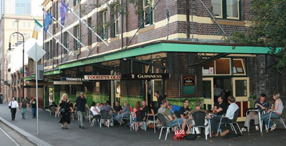 The Mercantile Pub at The Rocks, Sydney