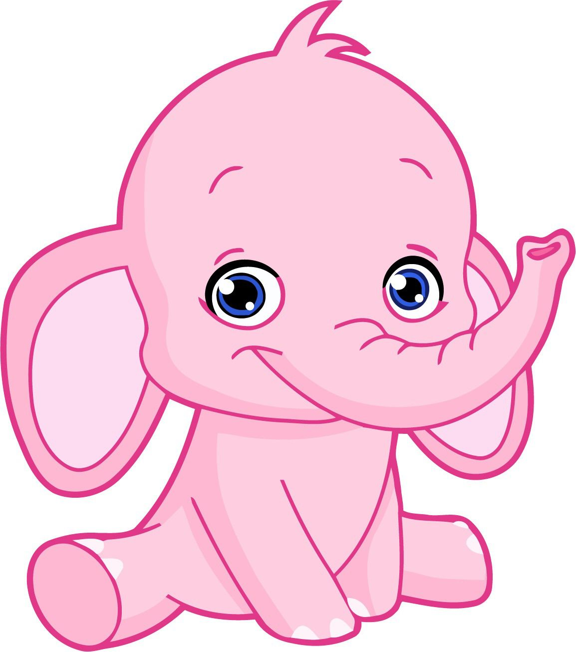 Don T Believe Everything You Think Elephant Clip Art Baby Elephant Drawing Cartoon Clip Art