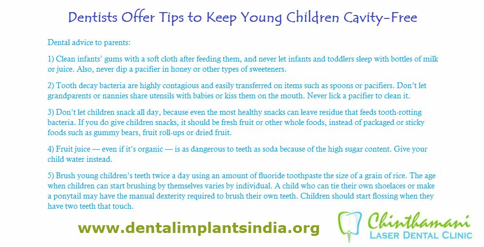 Good Dental Habits Begin At An Early Age But Many Parents Fall