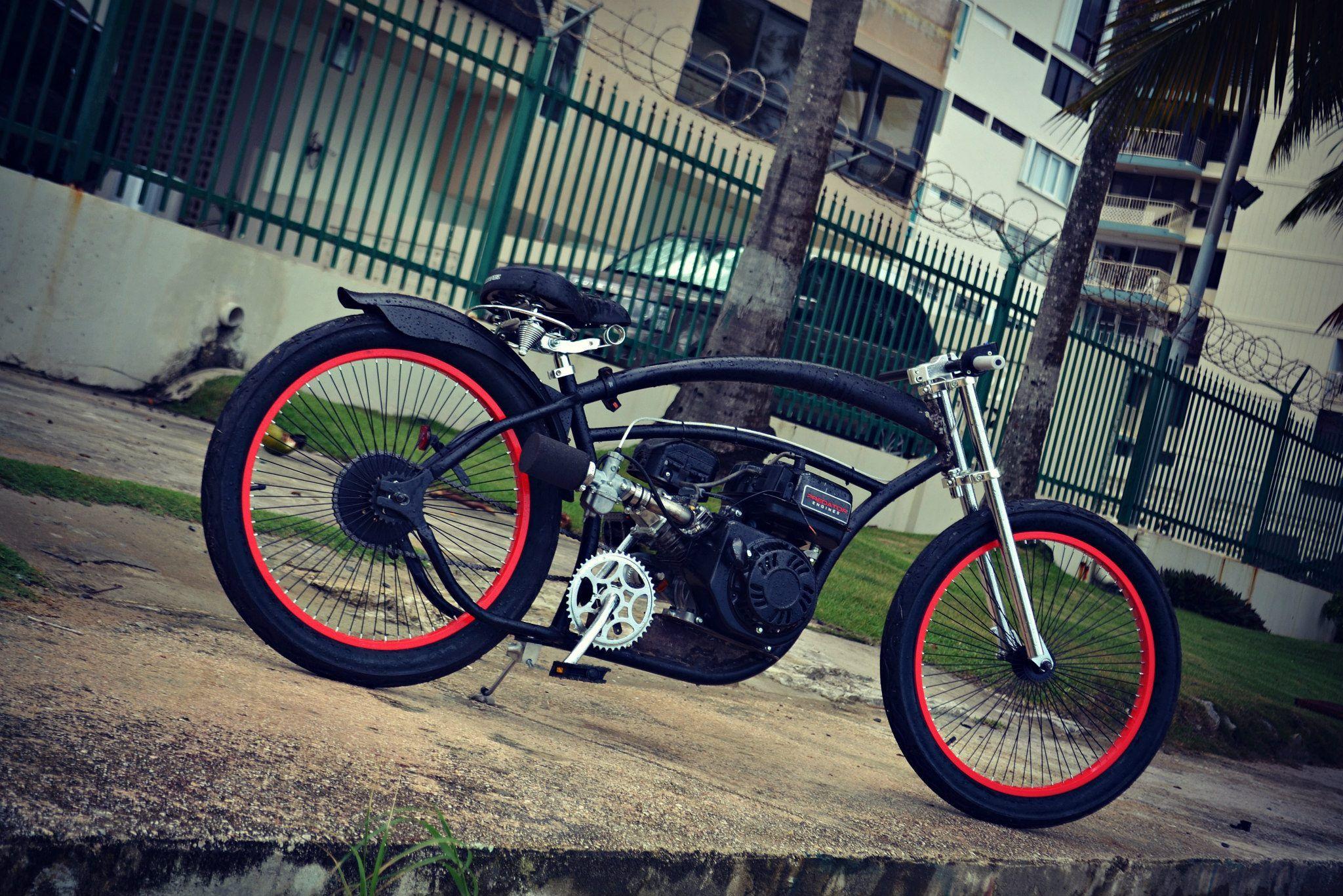 Custom Micargi 212cc Predator | motorized bicycles | Gas