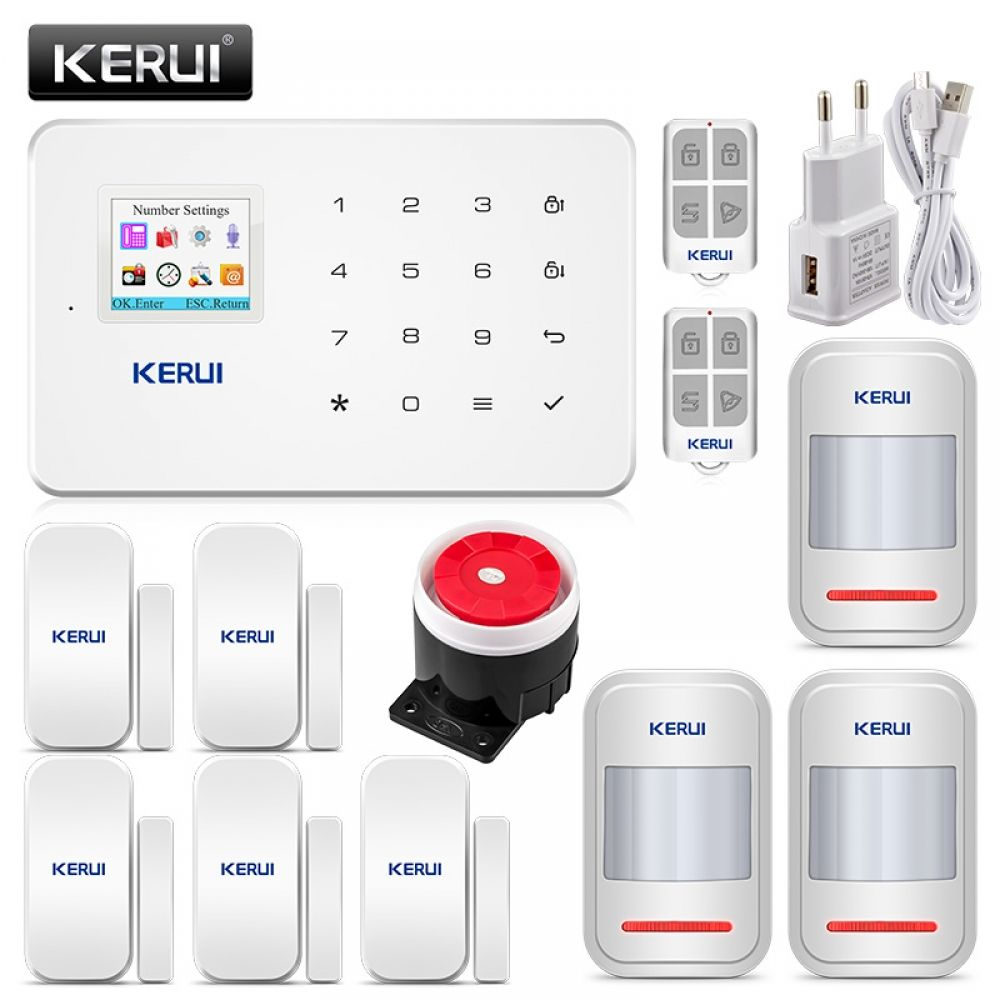 KERUI G18 Wireless Home GSM Security Alarm System DIY Kit
