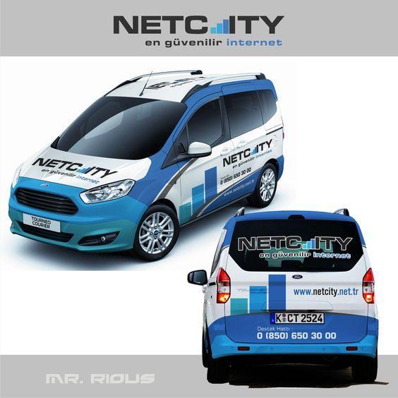 Netcity Rotulacion Furgoneta Rotulacion Vehiculos