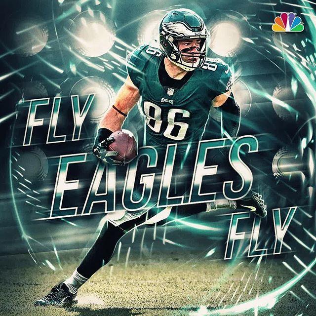 pretty nice 3d14c ddbd2 Zach Ertz | Philadelphia Eagles, Phillies | Nfl philadelphia ...