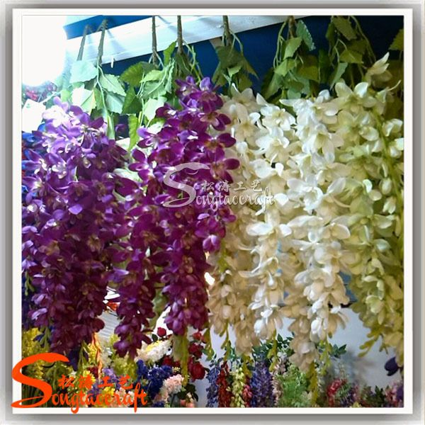 Factory direct artificial silicone flowers wisteria cheap factory direct artificial silicone flowers wisteria cheap wholesale artificial flowers artificial flower for wedding decoration junglespirit Image collections
