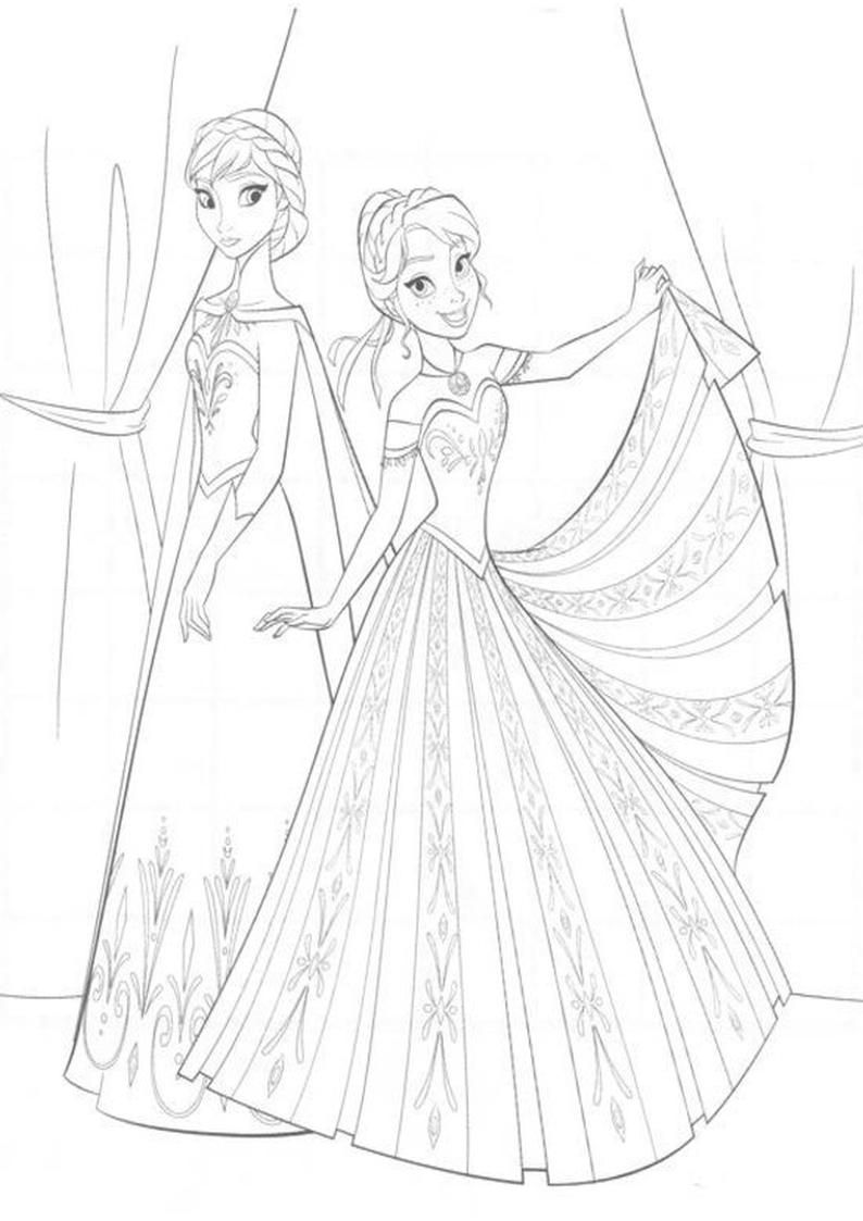 Kolorowanka Kraina Lodu Obrazek Do Wydruku Nr 49 Coloring Pages Disney Coloring Pages Coloring Books