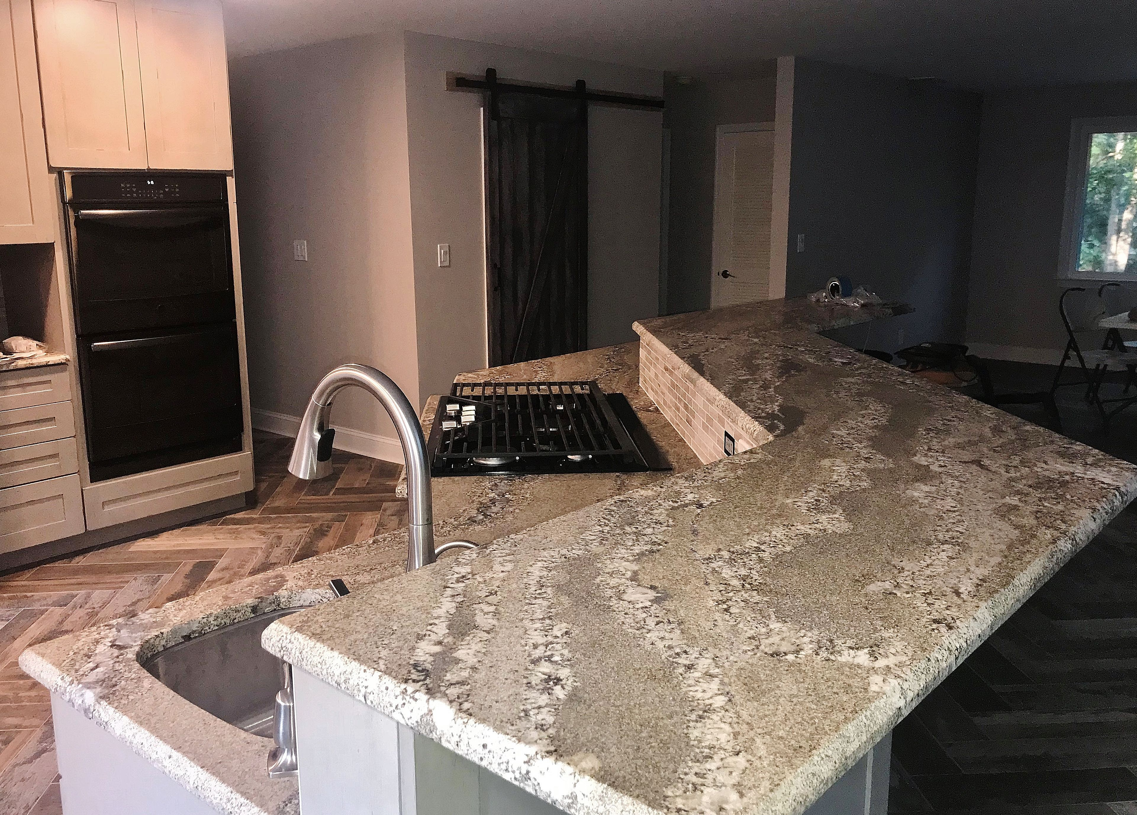 We Installed These Gorgeous Colonial Persia Granite Countertops