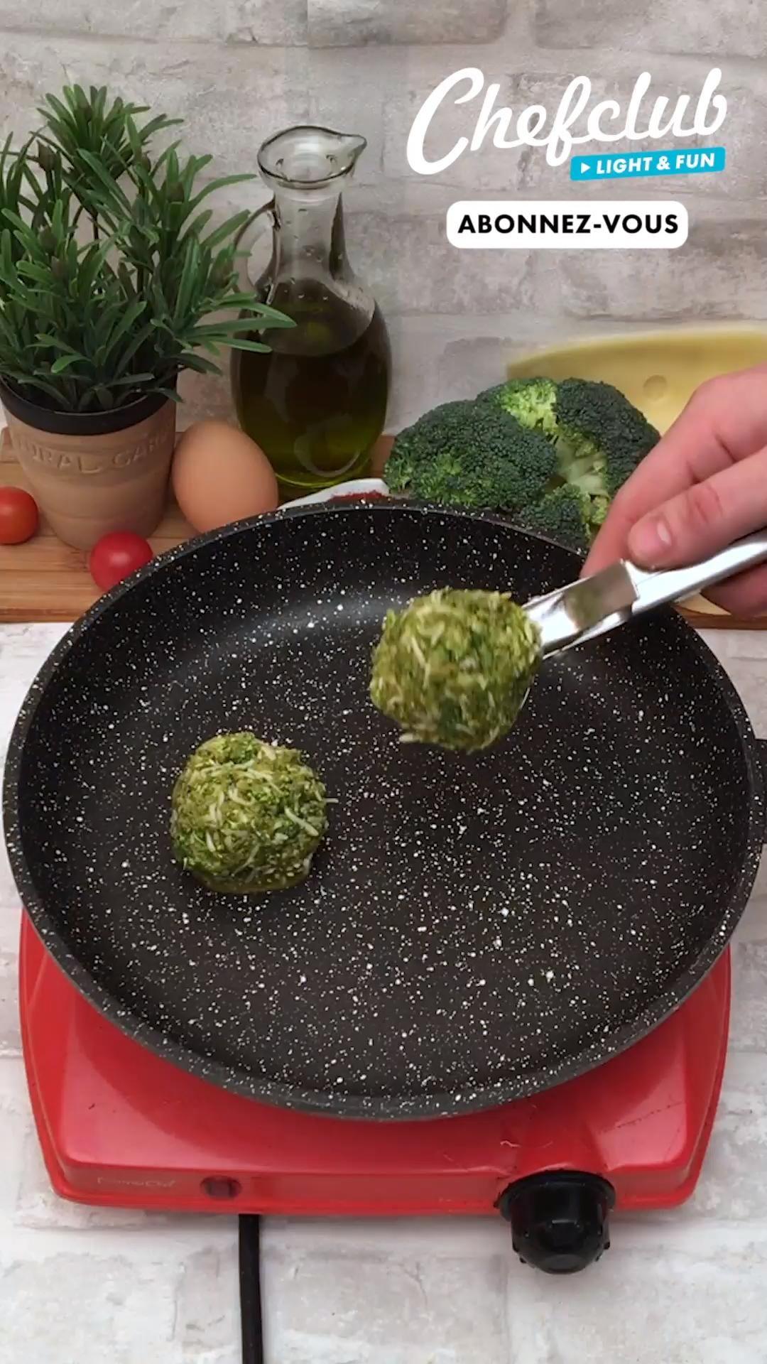 Croque brocoli aux épices