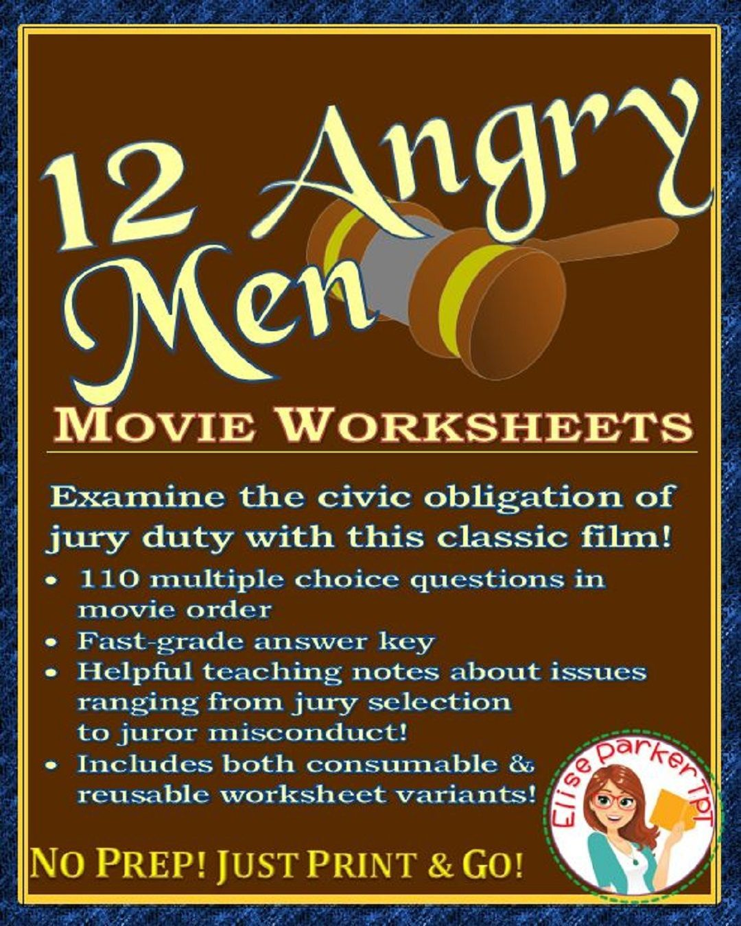 12 Angry Men Movie Worksheets 110 Multiple Choice