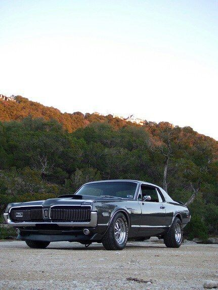 1968 Cougar.  I had one of these, but it was never this nice.