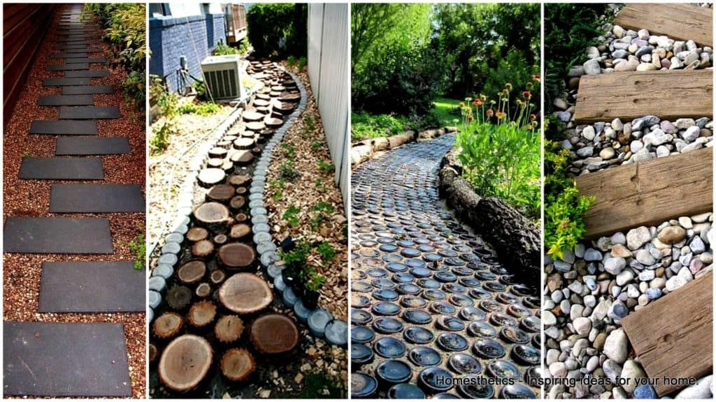 Photo of 19 Stunning Garden Pathways That You Can Make On Your Own   Homesthetics – Inspiring ideas for your home.