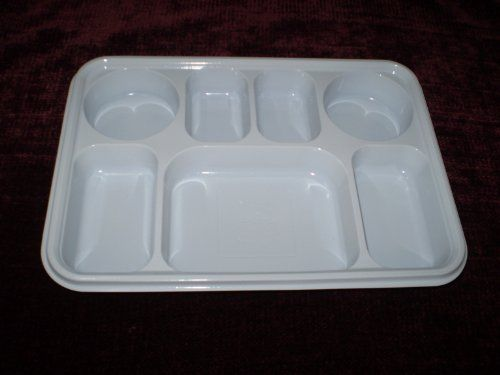 Seven Compartment Disposable Plastic Plate or Thali - 50 Plates by PlasticThali. $23.99. 7 Compartment heavy duty plastic plate. Each compartment is deep ... & Seven Compartment Disposable Plastic Plate or Thali - 50 Plates by ...