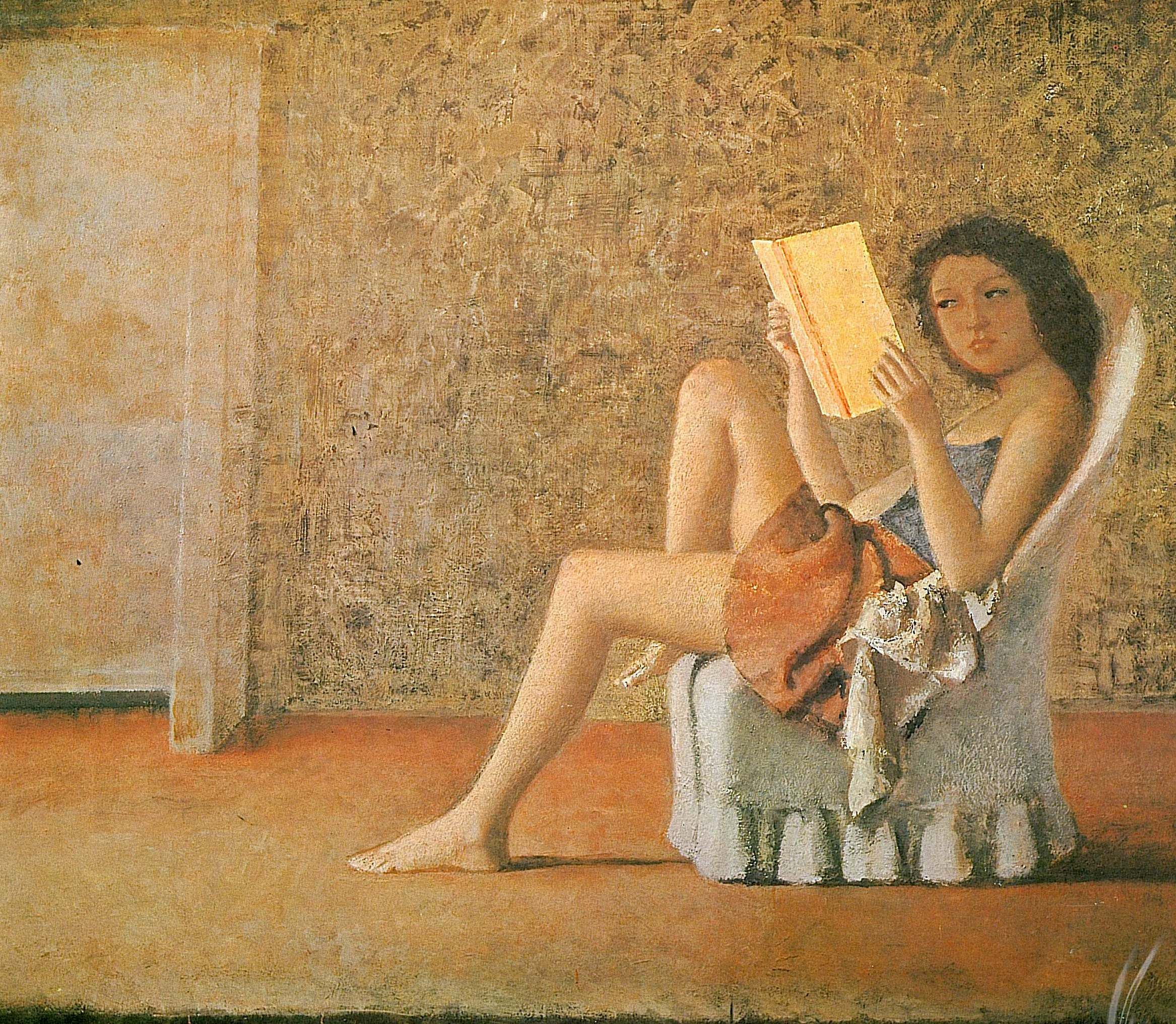 La Chambre Turque Balthus Katia Reading Balthus Art Art Erotic Art Reading Art