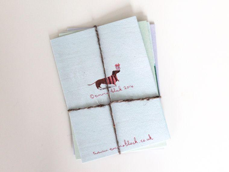emma block christmas cards