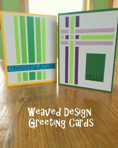 Greeting Card Series v2: Weave Design