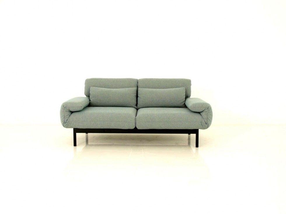 rolf benz plura sofa in stoff grau hellblau meliert - Couch Grau Stoff