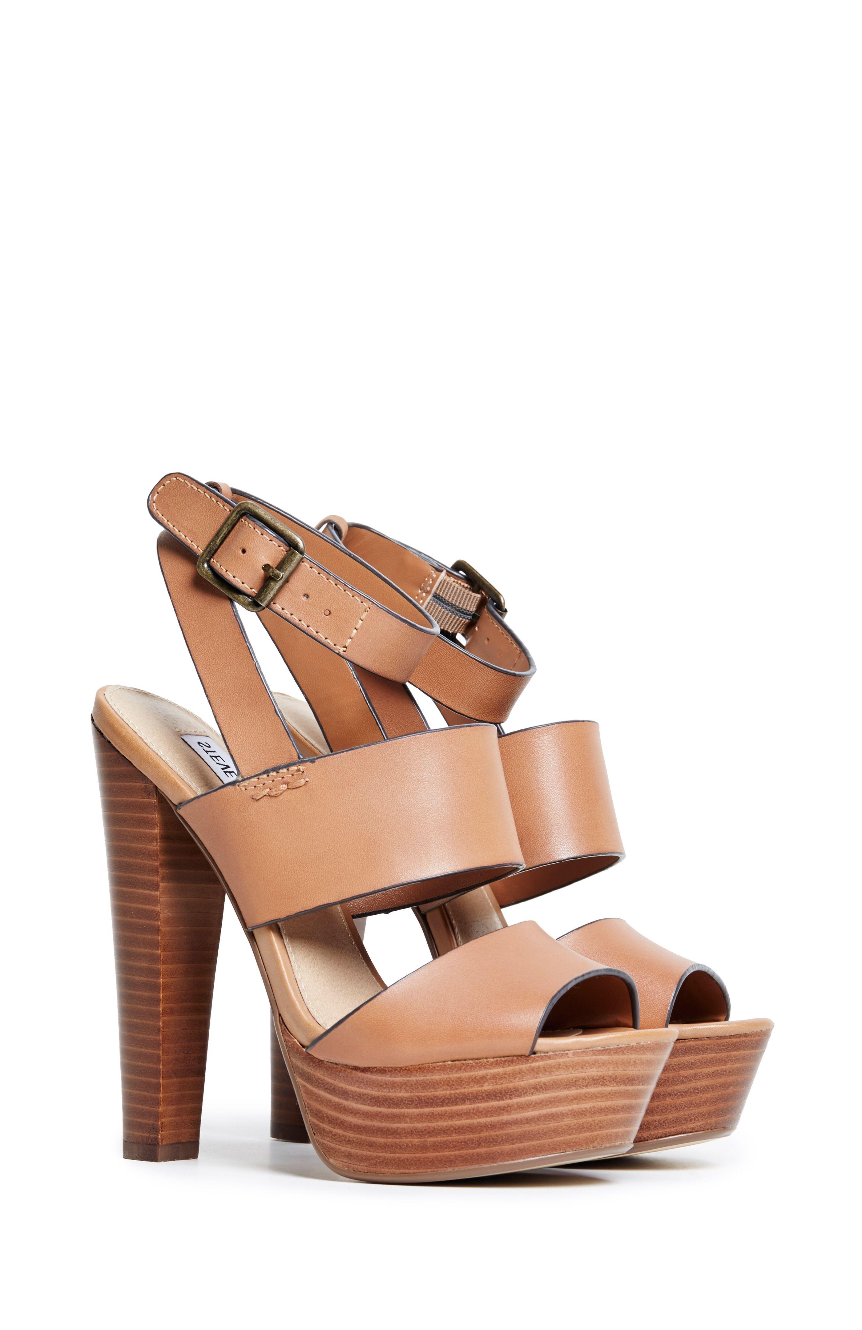 Steve Madden Dezzzy Platform Sandals in