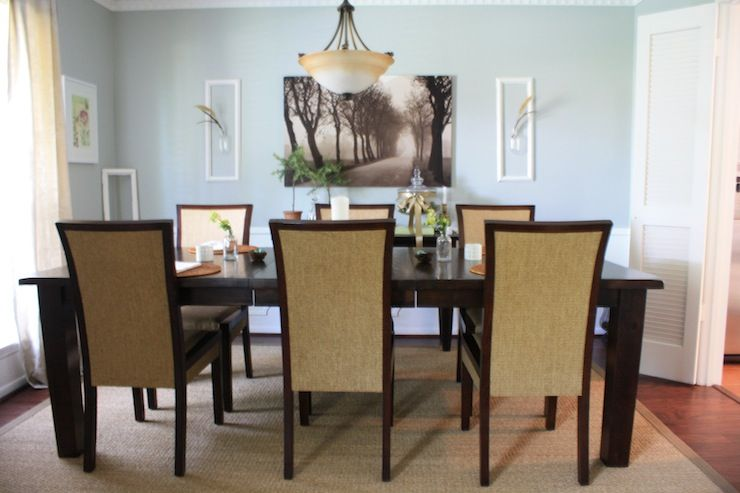 Dining Room  Restoration Hardware Silver Sage Silver Sage Ikea Brilliant Jute Rug In Dining Room Decorating Inspiration