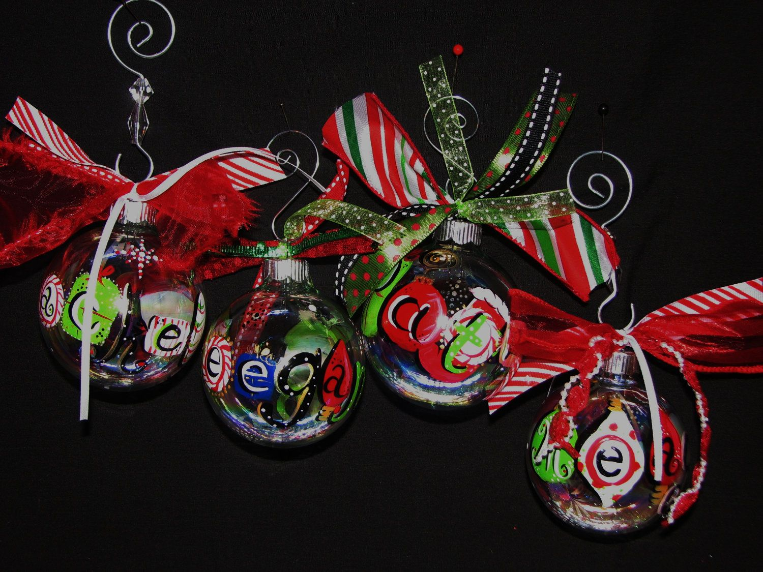 Hand+Painted+Personalized+Snowman+Christmas+by