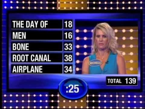 Turnberg Girls On Family Feud The Big Ending  Youtube  Game