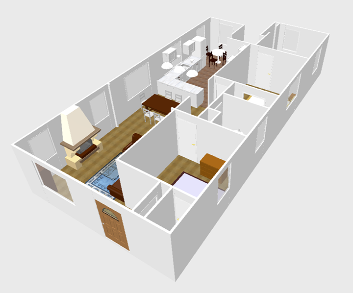 My Favorite FREE Program For Drawing Virtual Floor Plans And 3d Models To  Scale