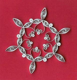 Quilled snowflake | Flickr - Photo Sharing!