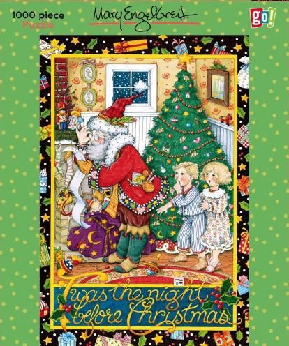 twas the night before christmas puzzle