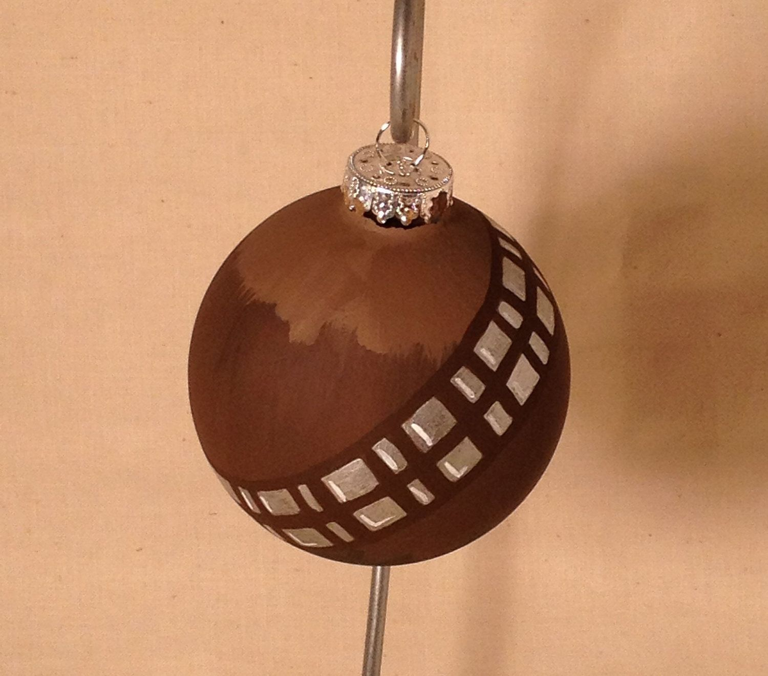 chewbacca inspired ornament christmas ornaments pinterest christbaumschmuck und. Black Bedroom Furniture Sets. Home Design Ideas