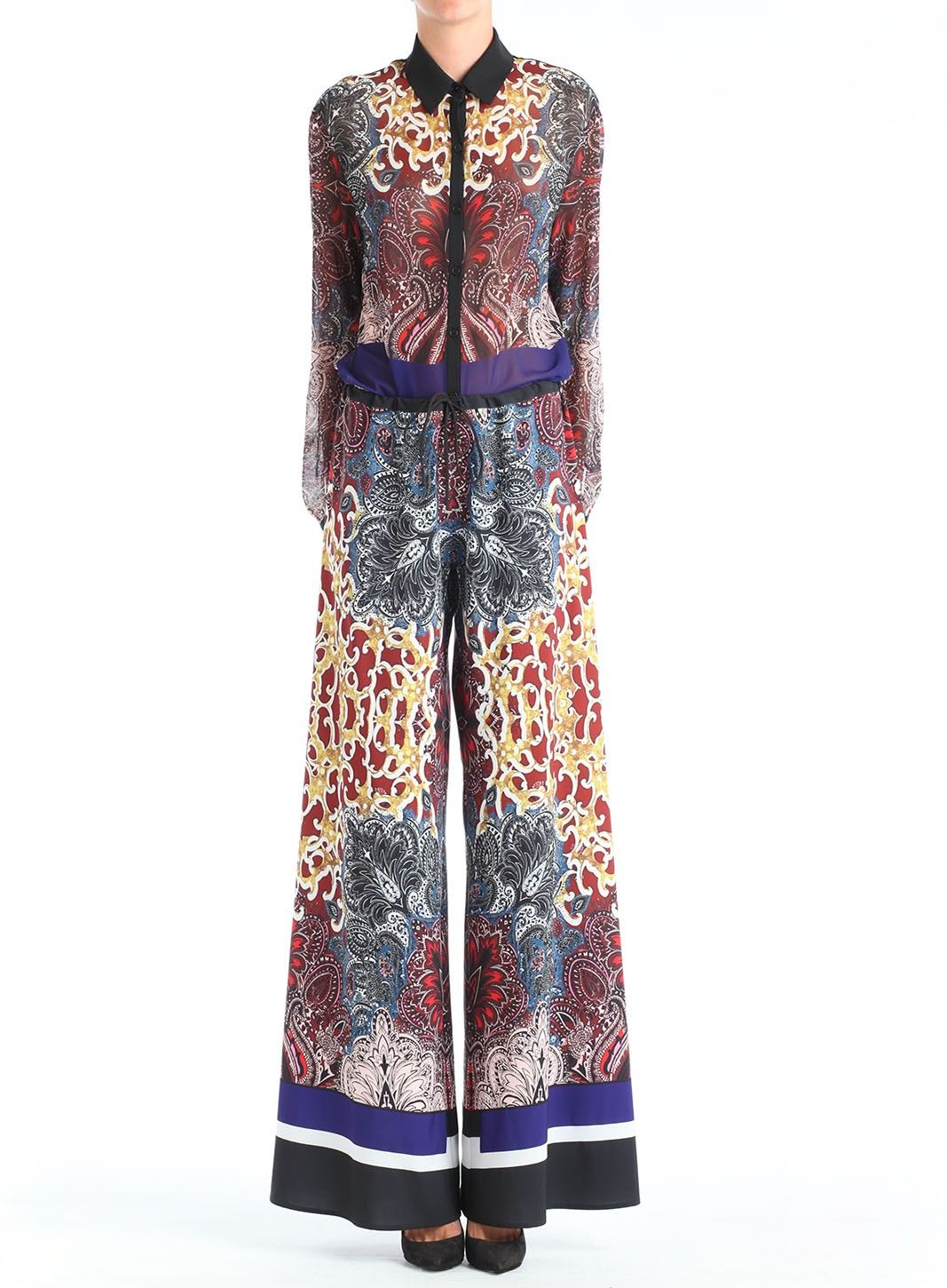 Clover Canyon- Kosack  Paisley Wide Leg Pants
