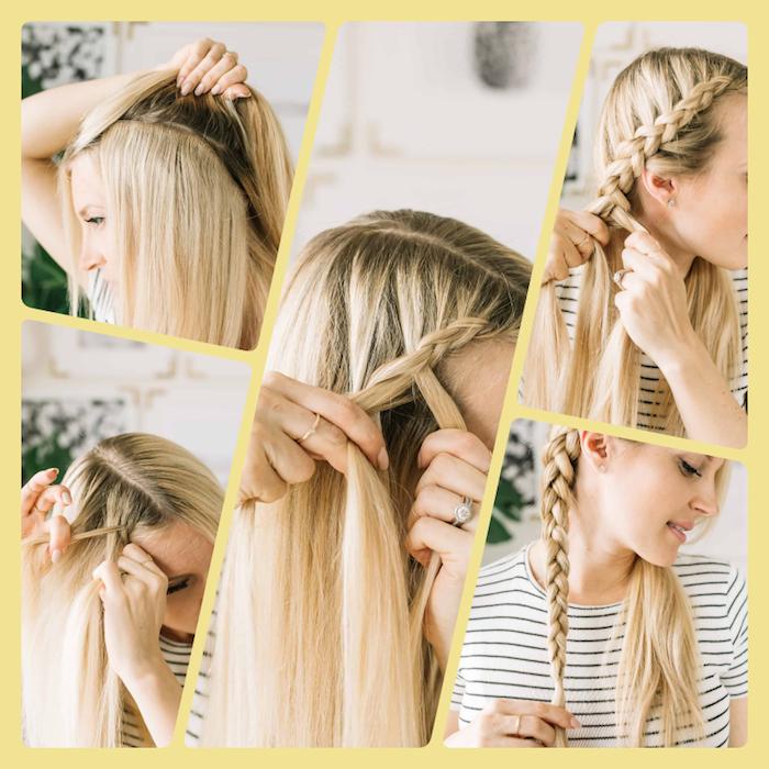 1001 Schnelle Und Leichte Frisuren Zum Nachstylen Leichte Frisuren Haare Flechten Leicht Haare Selber Flechten