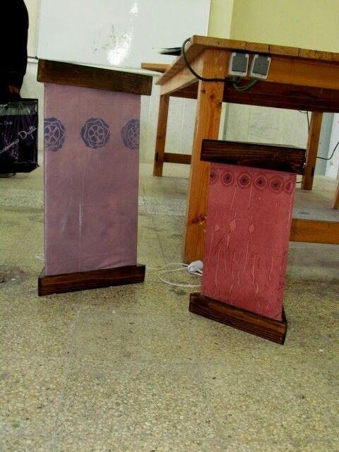 نام اثر:اباژور تکنیک:چوب نراد رنگ.شده با شاپاین نقاشی روی پارچه ...نام اثر:اباژور تکنیک:چوب نراد رنگ.شده با شاپاین نقاشی روی پارچه