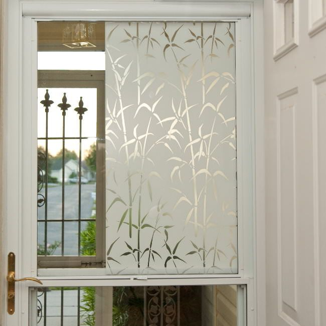 Front Door Side Window Film: Privacy (Static Cling )