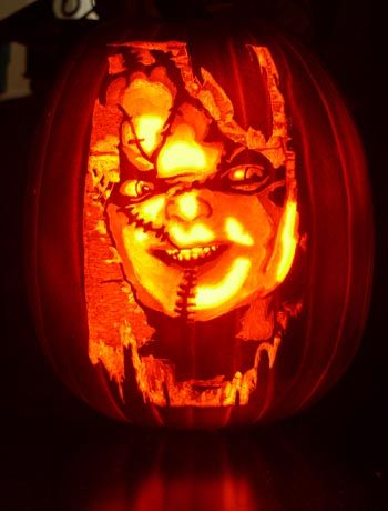 20 Pumpkin Carvings that bring out the Creative You! | Chucky ...