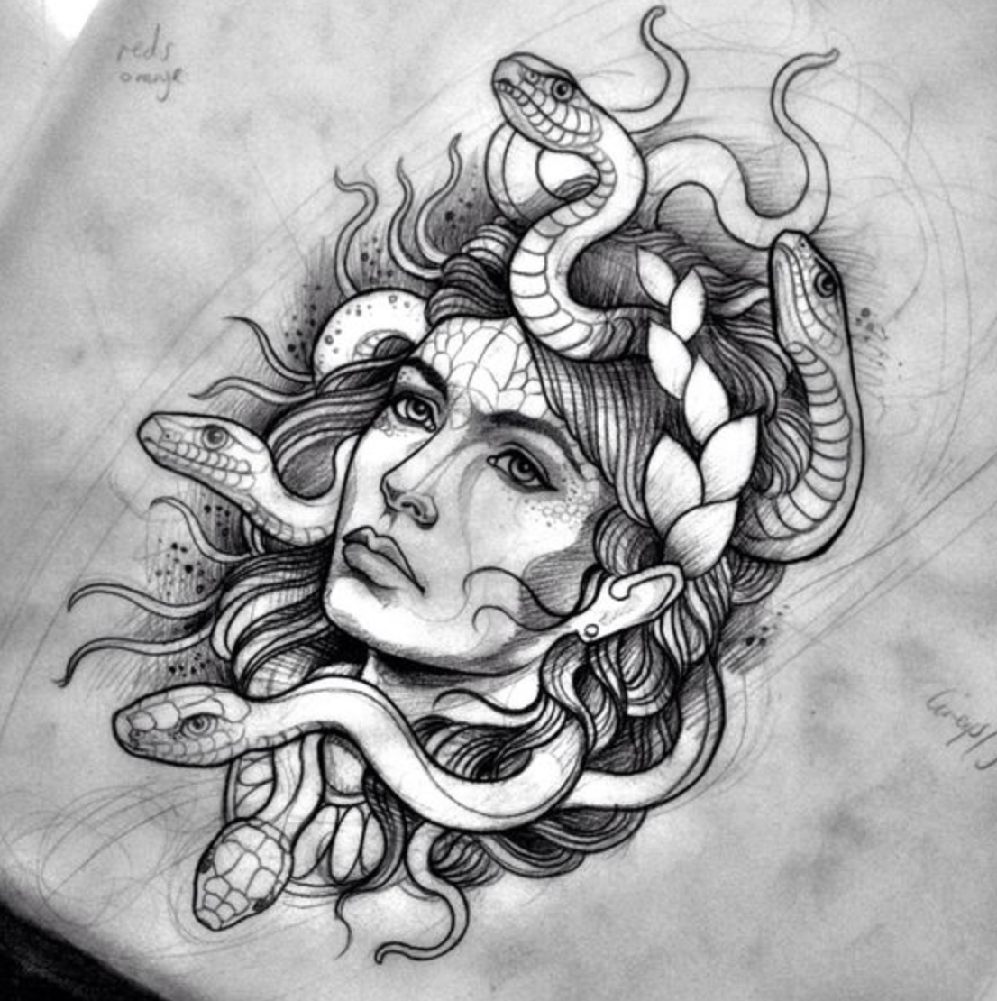 Medusa Tattoo, Tattoos