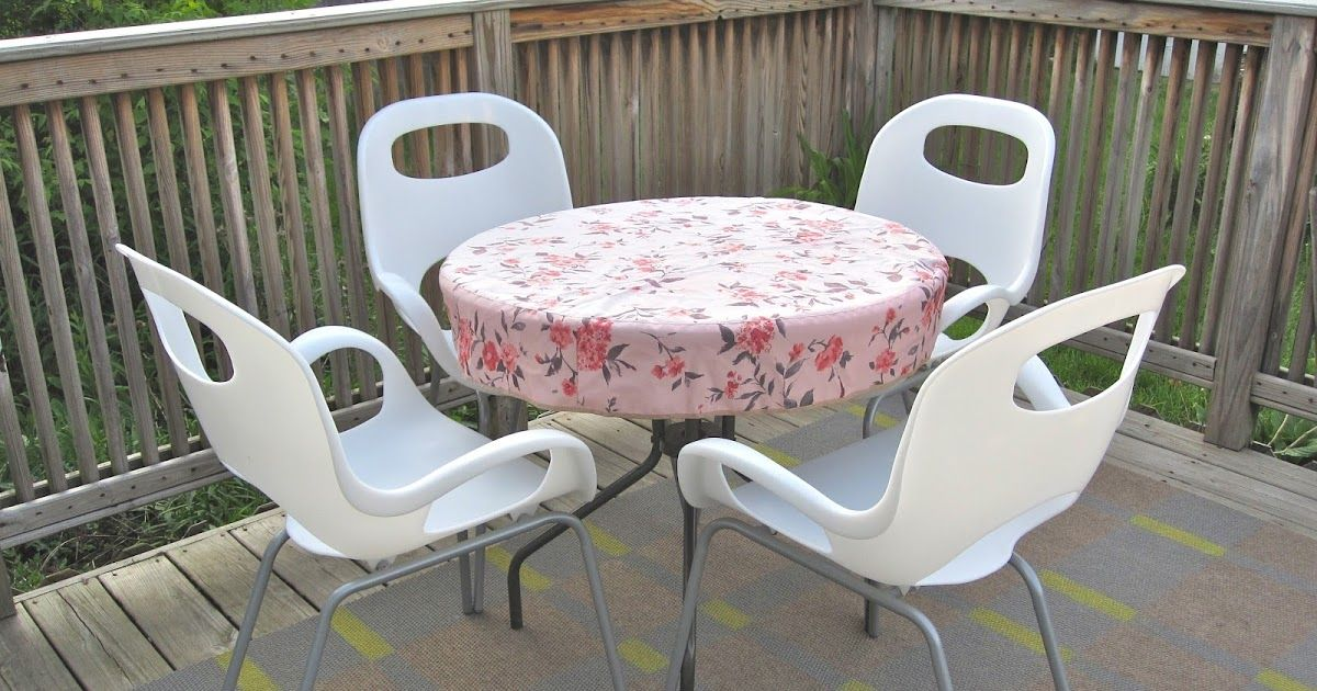 beautifully contained diy patio table cover sewing ideas and