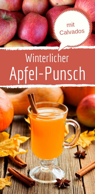 Wärmender Winter-Apfel-Punsch mit Calvados #healthystarbucksdrinks
