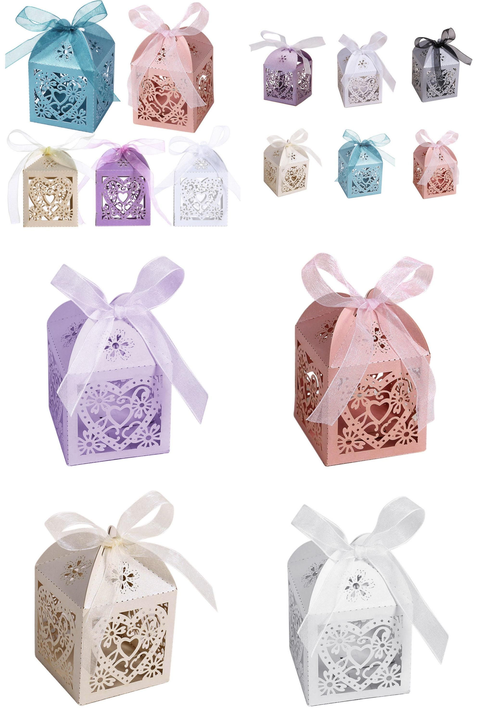 Visit to Buy] 10Pcs/set Love Heart Party Wedding Hollow Carriage ...