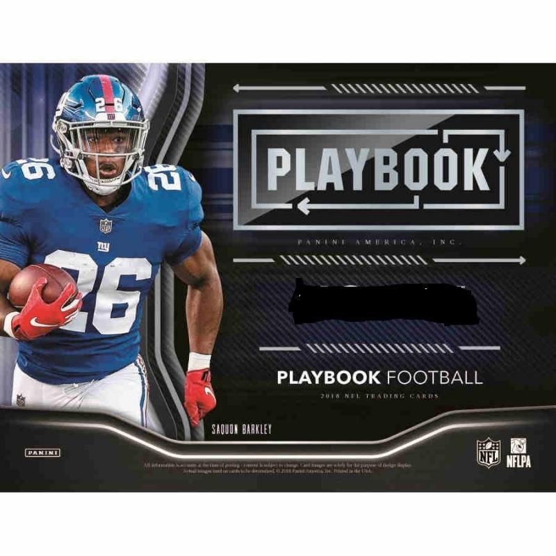 2018 Panini Playbook NFL Football Cards Pick List Includes