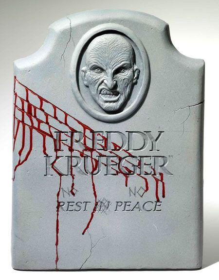 Freddy Krueger Halloween Headstone Crafts Pinterest Halloween
