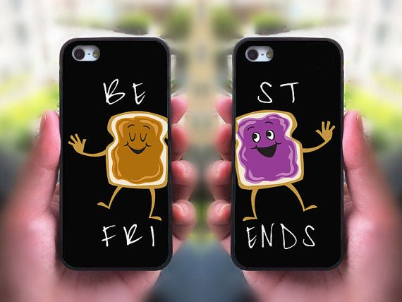 Best Friends,Peanut butter and Jelly,iphone 5S case,iphone 5C case,iphone 5 case,iphone 4 case,ipod 4 case,ipod 5 case,matching phone case on Etsy, $28.98