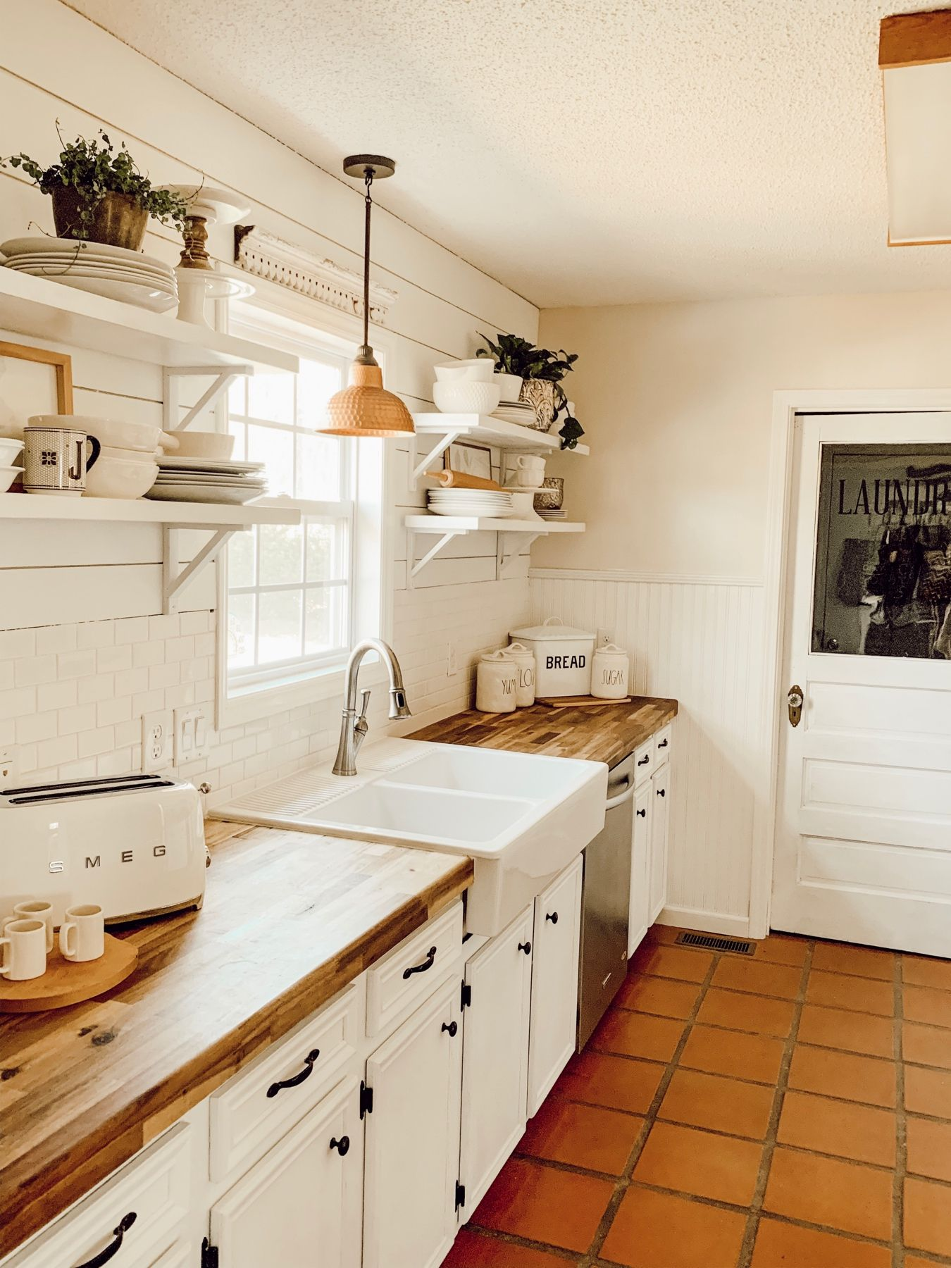 Taking Down Those Cabinets Are One Of My Favorite Changes In Our Whole Home The Lighting In 2020 Kitchen Remodel Small Cottage Kitchen Decor Modern Kitchen Appliances
