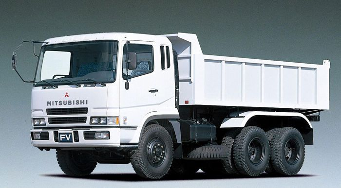 Mitsubishi fuso fp-r fs fv series truck workshop service