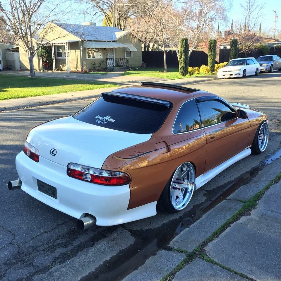 Lexus #SC300 #SC400 #Modified #Stance #Slammed #WideBody