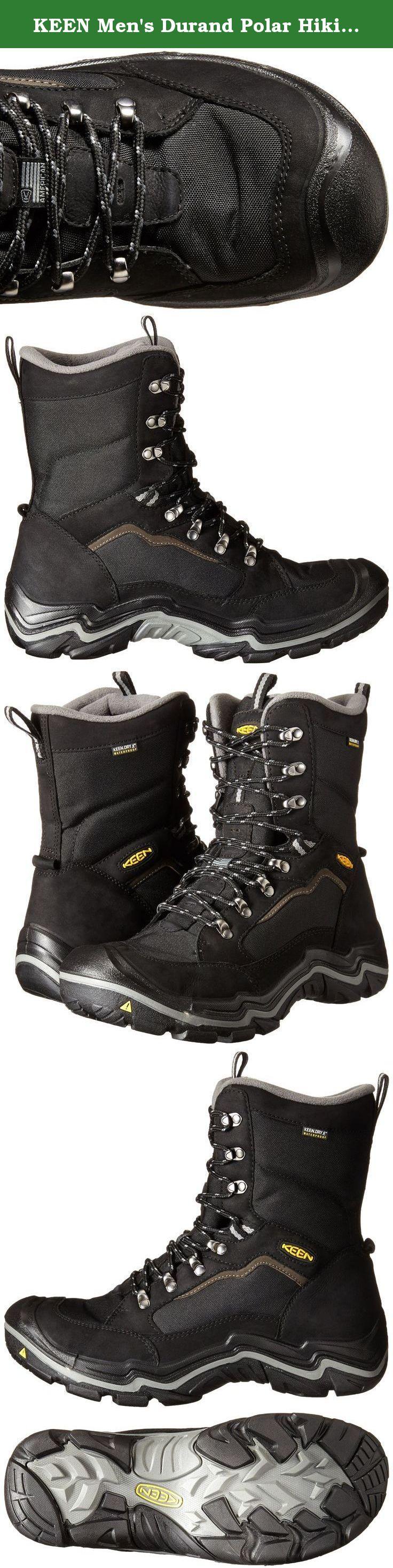 b88e9f79db6 KEEN Men's Durand Polar Hiking Boot. FEATURES of the Keen Men's ...
