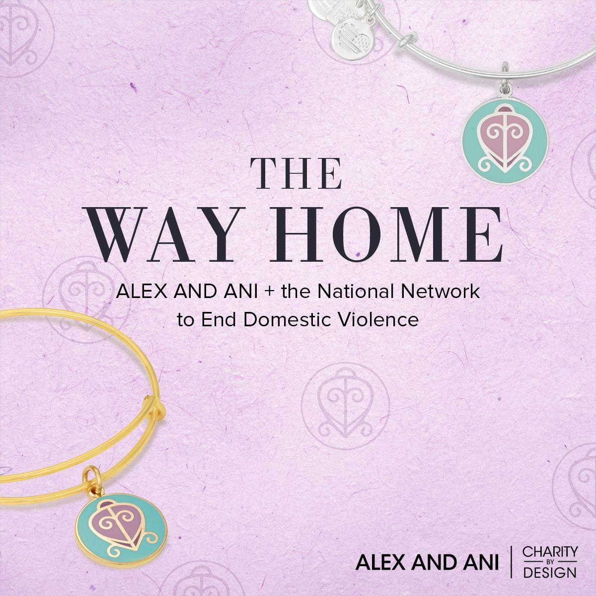 #CHARITYBYDESIGN: http://www.alexandani.com/the-way-home-charm-bangle.html